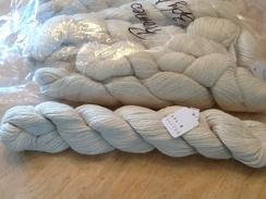 Yarn yarn and rug yarn