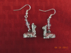 Photo of Sterling Kushed Alpaca Earrings