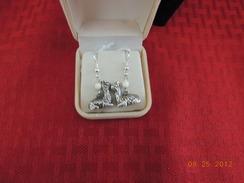 Sterling Kushed alpaca earrings 4