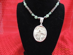Photo of Sterling Paca and Pyr necklace 6
