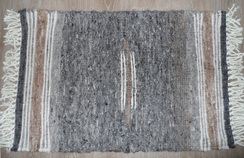 Photo of 100% Suri Alpaca Rug (#ICR3x2N2)