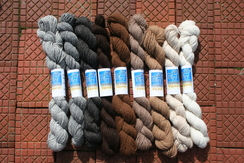 100% Alpaca Sport Weight yarn