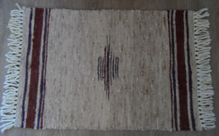 Photo of 100% Suri Alpaca Rug (#ICR3x2C4)