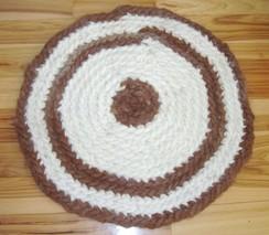Crochet Alpaca Rug