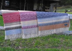 Cherokee Design Throws
