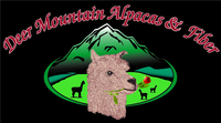 Deer Mountain Alpacas & Fiber - Logo