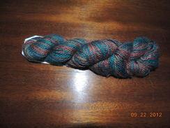 """Photo of """"Smokey Mountain"""" Handpainted Yarn"""
