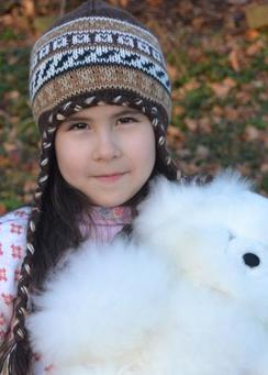 Photo of Peruvian Kids Alpaca Chullo Hat