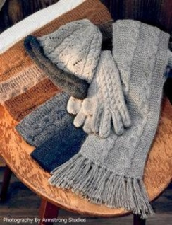 Photo of Alpaca Trenza Cable Gloves