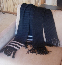 Photo of Hand Knitted scarves