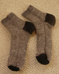 Photo of Extreme Alpaca Slipper Socks
