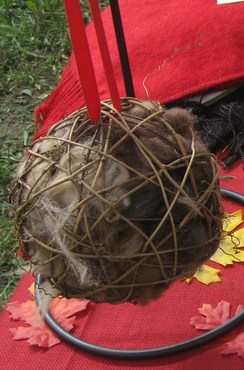 Photo of Refillable Bird Nesting Ball