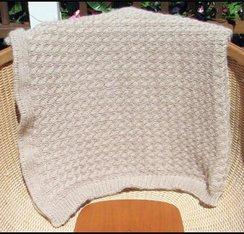 100% Alapca Baby Blanket