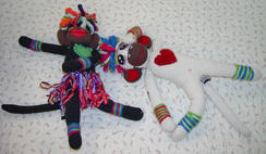 Alpaca Sock Monkey-Includes Shpg