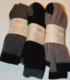 Outdoor Adventure Alpaca Socks