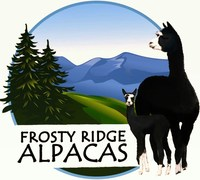 Frosty Ridge Alpacas - Logo