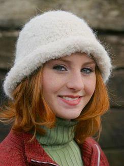 "Photo of Alpaca ""Riccio"" Hat"