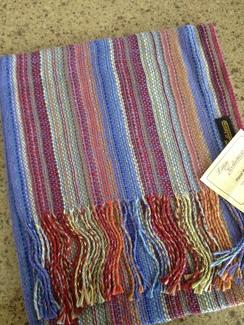 70% alpaca scarves