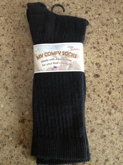 "Photo of ""My Comfy"" socks"