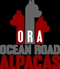 Ocean Road Alpacas - Logo