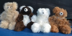Photo of Baby Alpaca Teddy Bear 6""