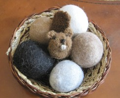 Photo of Dryer Balls Gift Basket