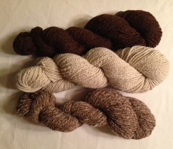 2 Ply 100% Alpaca Yarn 200 yard skeins