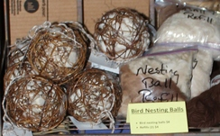 Photo of Fiber/Twig Nesting Ball Refills