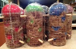 Bird Nesting Silos