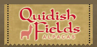 Quidish Fields Alpacas   YARN FARM STORE - Logo