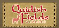 Quidish Fields Alpacas   YARN FARM STORE - Logo
