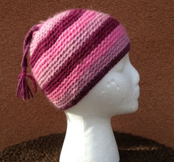 Photo of Lollypop Line Hat Rose/Maroon/Pink