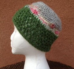 Photo of Lollypop Line Hat: Green/LollyBand/Grey