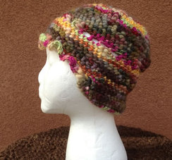 Photo of Lollypop Line Hat Pending Fall  SOLD