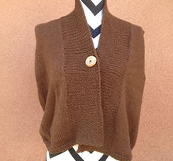 Linda's Workshop: Espesso Canter Vest