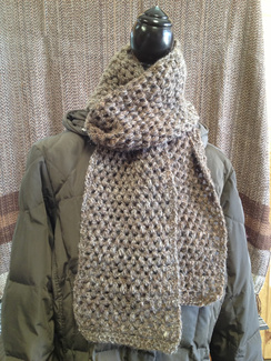 Photo of Linda's Workshop: Spring Fawn Scarf SOLD