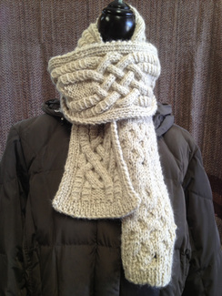 Photo of Linda's Workshop: Celtic Knot Scarf