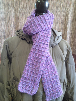 Photo of Linda's Workshop: Lavender Scarf