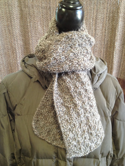 Photo of Linda's Workshop: Grey Sisters Scarf