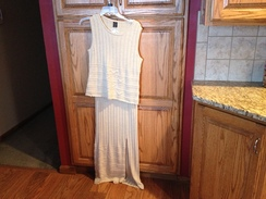 Photo of CLOTHING  --LADIES SKIRT AND TOP SET