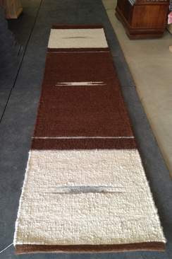 Photo of Ingrid'sRunnerRug ColorBlockwithPattern