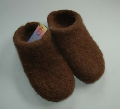 Alpaca Felted Slippers