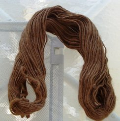 Photo of Lopi style Bulky Brown Alpaca Yarn
