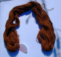 Photo of Suri/Huacaya Alpaca yarn (Mason)
