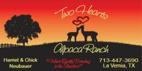 Two Hearts Alpaca Ranch - Logo