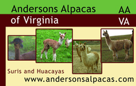 Andersons Alpacas of Virginia - Logo