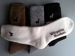Whispering Meadows Alpaca Socks