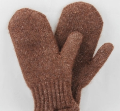Photo of Mittens-Boucle Lined