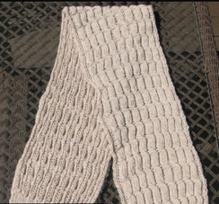 Photo of Scarf-Cable Knit