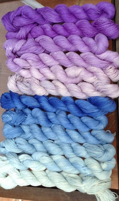 Hand-dyed Gradient Yarn Series